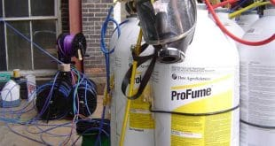 Use Profume to fumigate the seed warehouse. profume md3 310x165