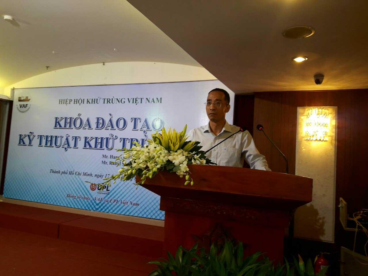 Chương trình đào tạo đầu tiên của Hiệp hội khử trùng Việt Nam thành công hơn mong đợi 1
