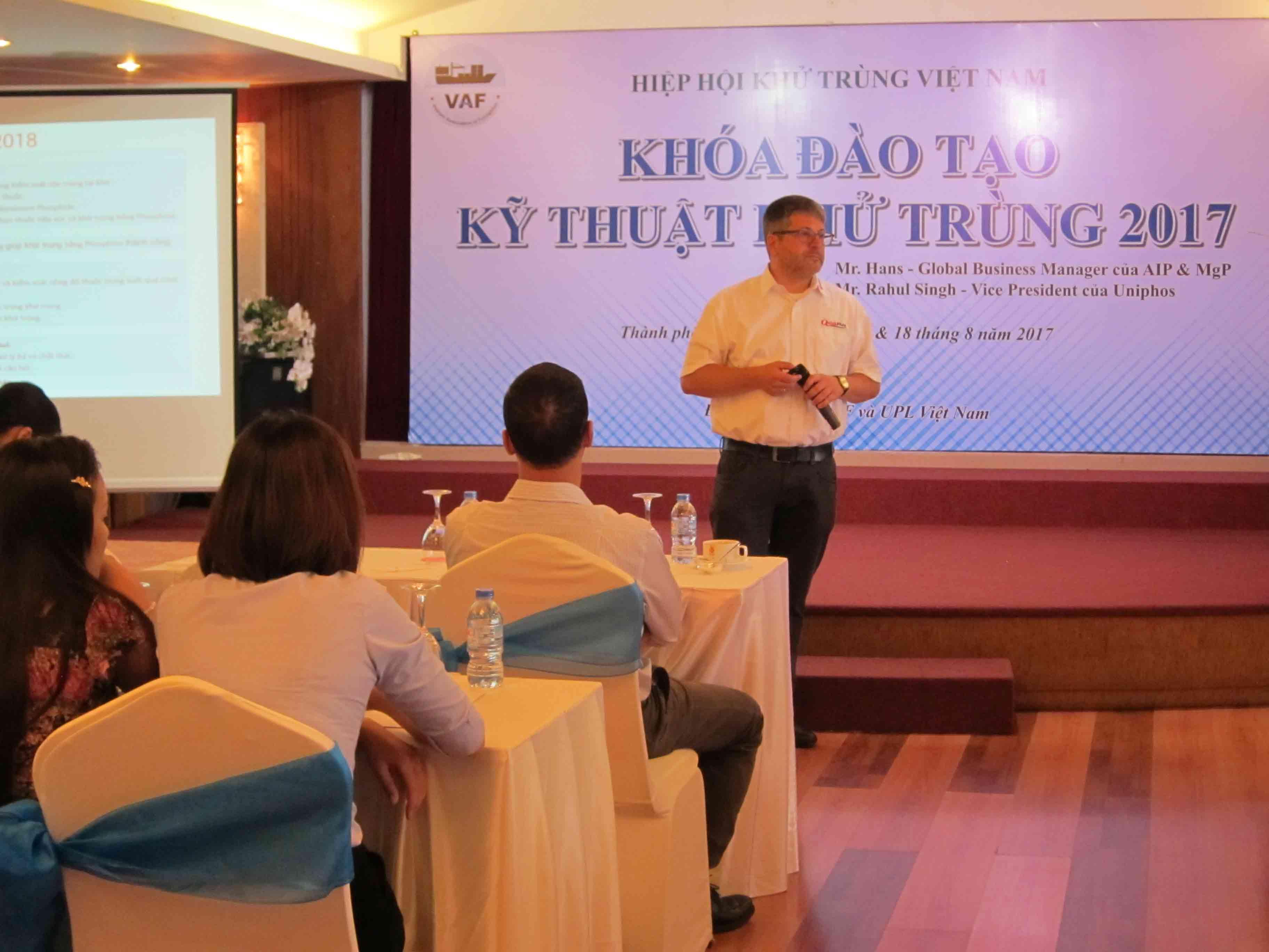 Chương trình đào tạo đầu tiên của Hiệp hội khử trùng Việt Nam thành công hơn mong đợi 2