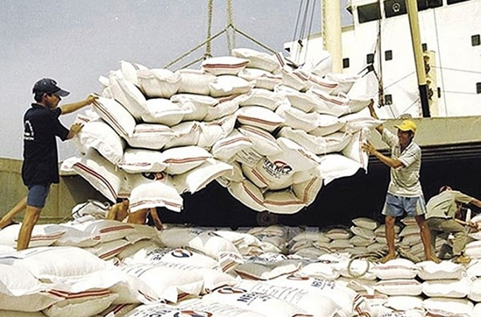 Xuất khẩu gạo rộng cửa quý đầu năm 2019 1632 xk gyo