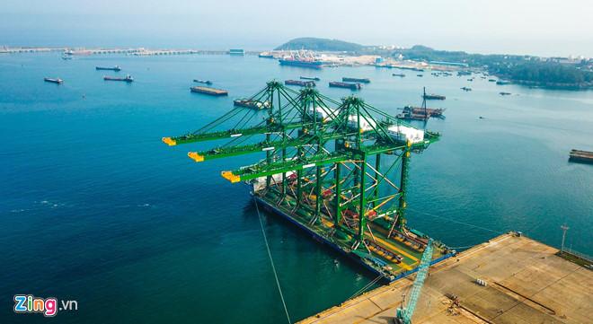 Xây cảng container đón tàu hàng siêu trường, siêu trọng ở miền Trung 145237baoxaydung 38