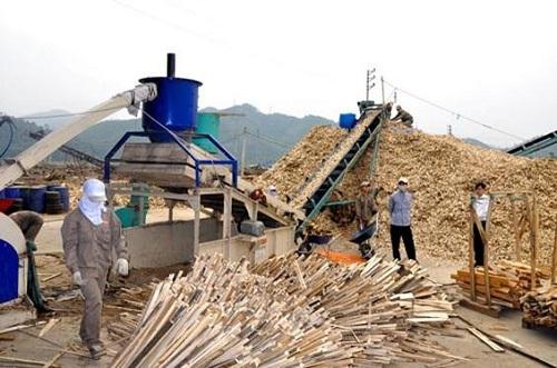 Dự kiến điều chỉnh thuế xuất khẩu dăm gỗ lên 5% damgo