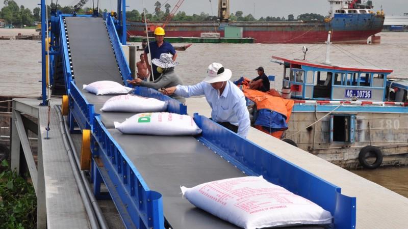 Xuất khẩu gạo gặp khó gao efex 0745a